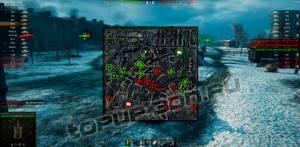 мод миникарты world of tanks