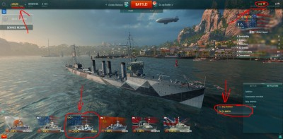 бонус World Of Warships,