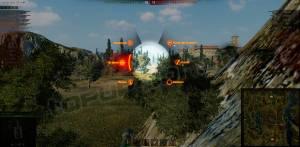 скачать Боевое меню для танков