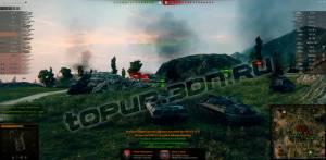 мод перезарядка танка